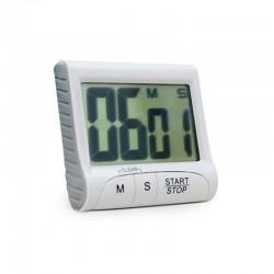 TIMER CRONÔMETRO DIGITAL, CONTAGEM CRESCENTE E DECRESCENTE, DIMENSÃO 80 X 65MM.